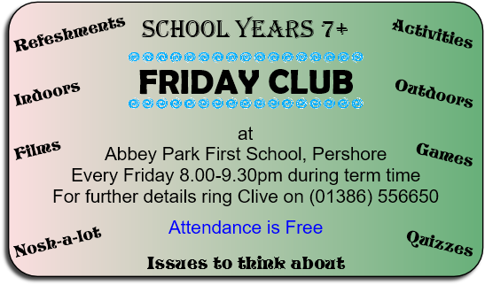 Friday Club Invite